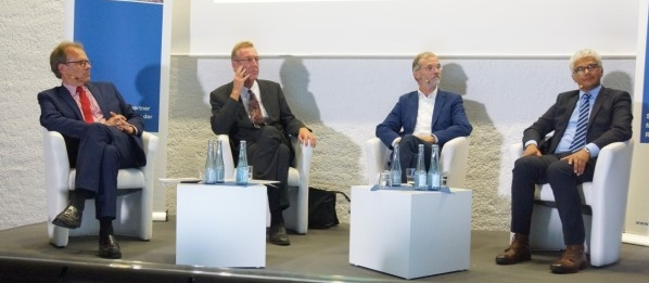 Das Podium des OB-Talks am 02. September 2015