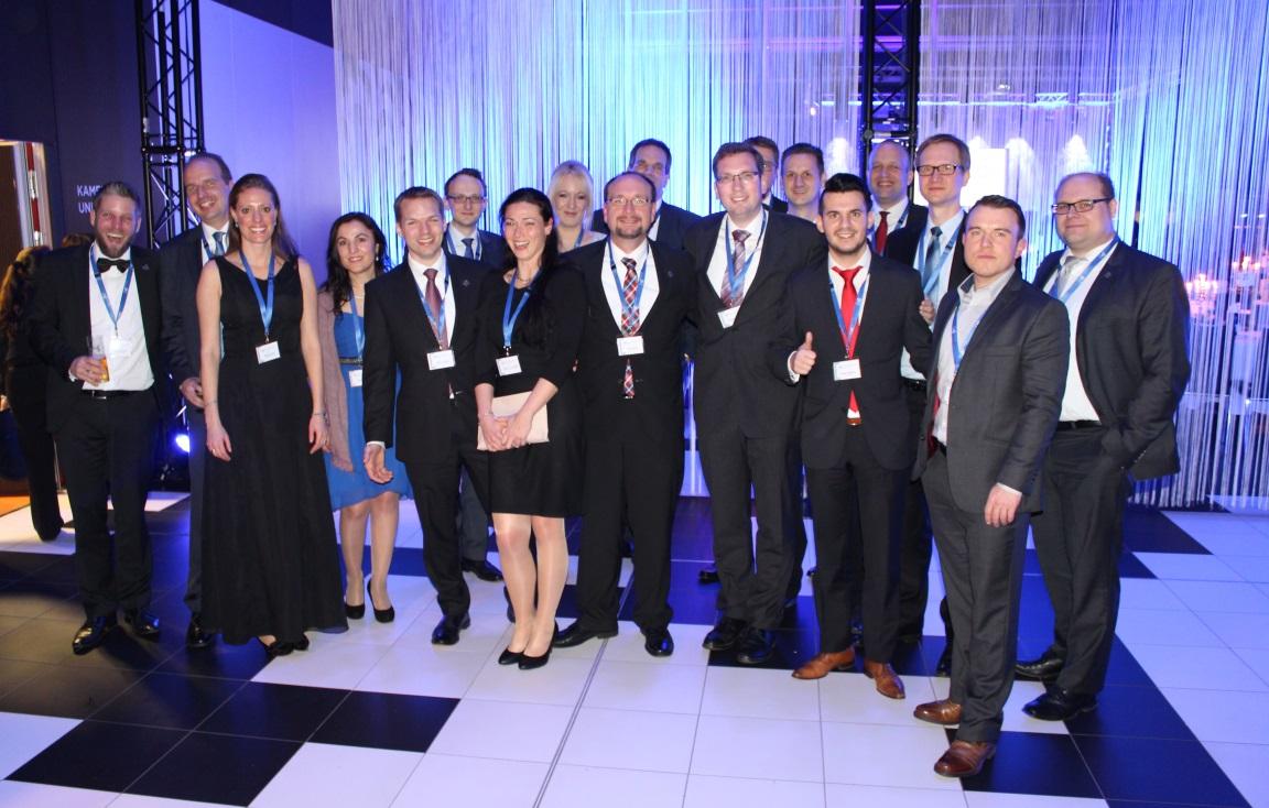 Die Ausrichter des Neujahrsempfangs 2016: Die WJ Bonn/Rhein-Sieg
